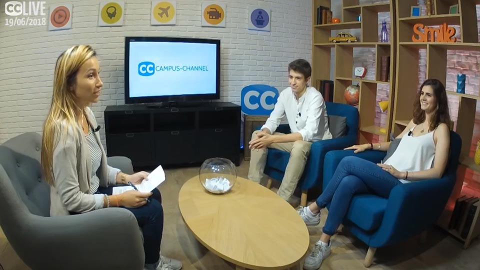 Admissibles : Campus Channel 2018