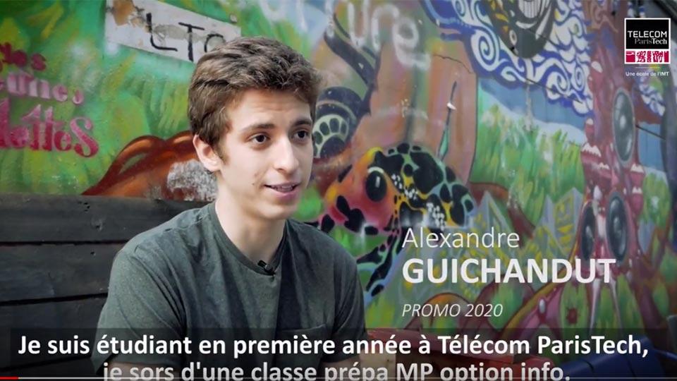 Admissibles : témoignage d'Alexandre Guichandut