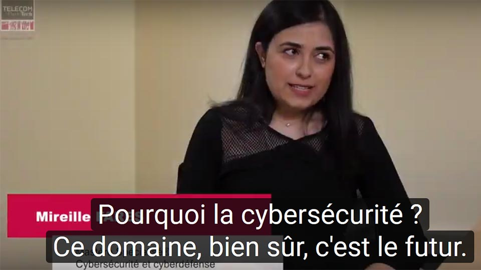 MS Cyber : Mireille Fares