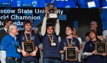 International Collegiate Programming Contest winners