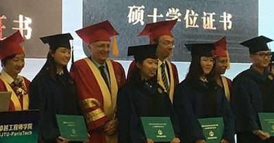 Shanghai ParisTech graduation ceremony-1