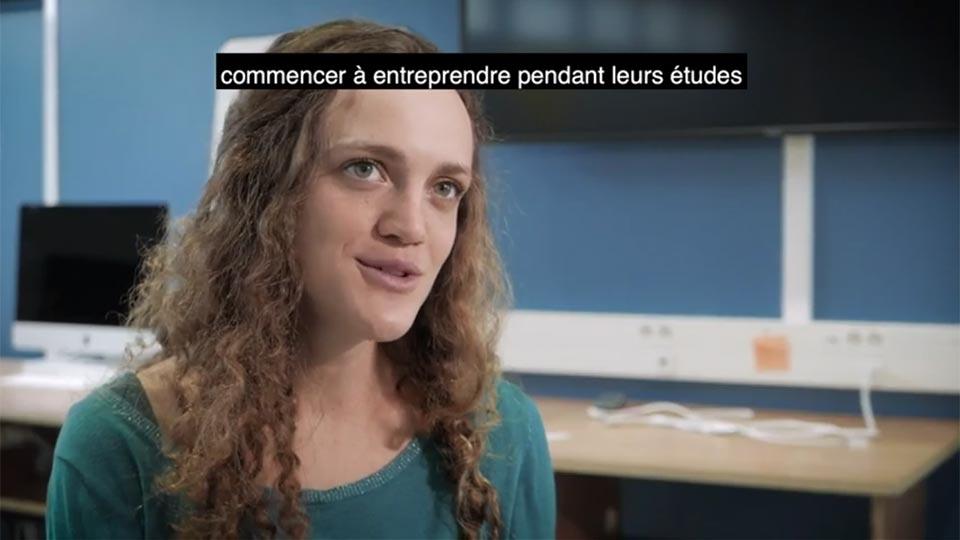 L'option entrepreneuriat racontée par les étudiants
