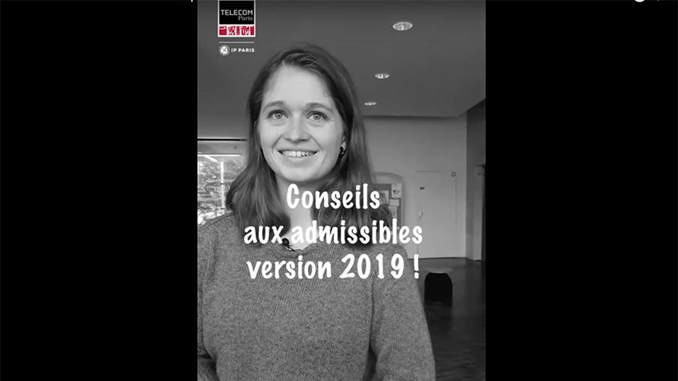 Conseils aux admissibles 2019 ! par Soline
