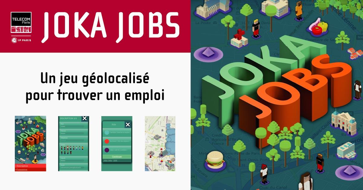 JokaJos, un jeu géolocalisé pour trouver un emploi