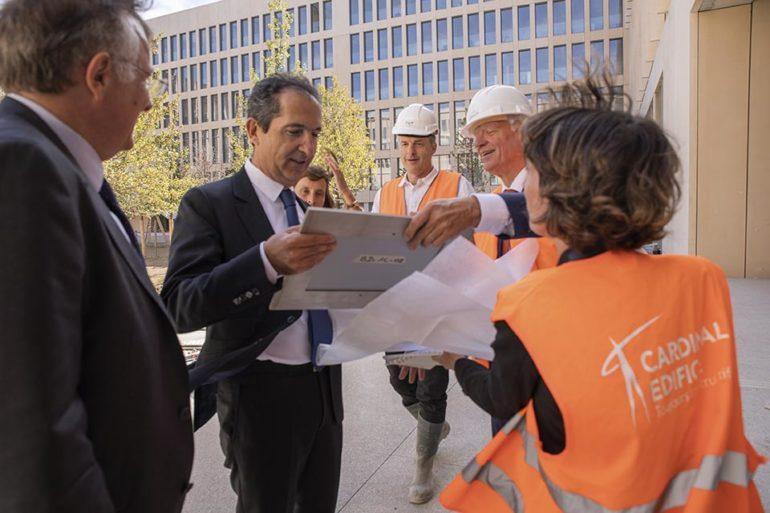 Viite de Patrick Drahi à Télécom Paris Palaiseau