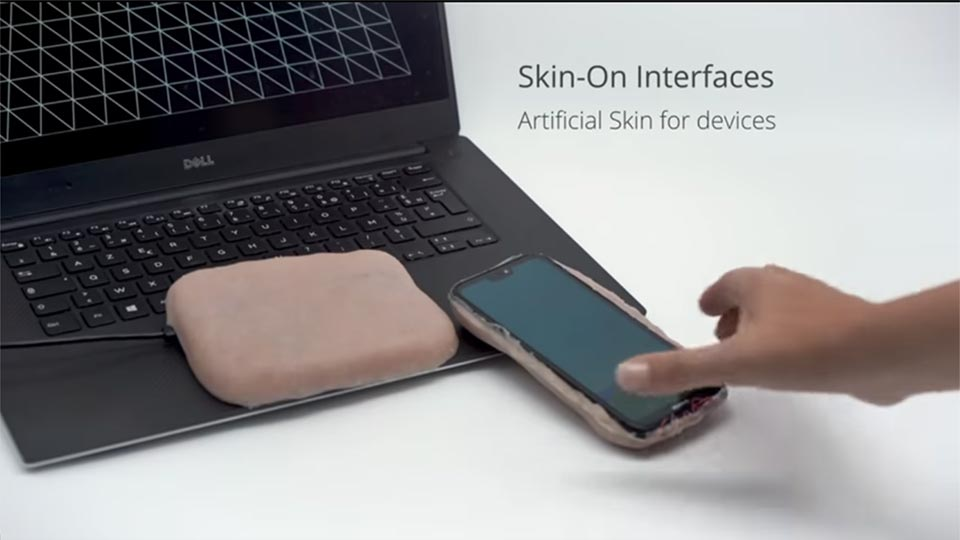 Skin-on interface