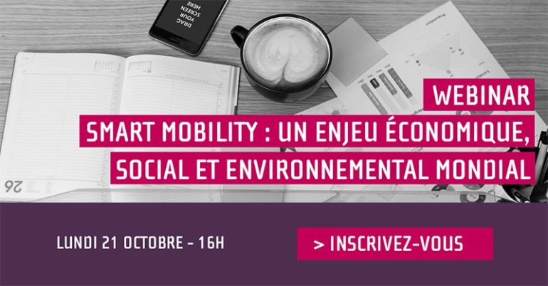 Webinaire Smart Mobility 21/10/2019