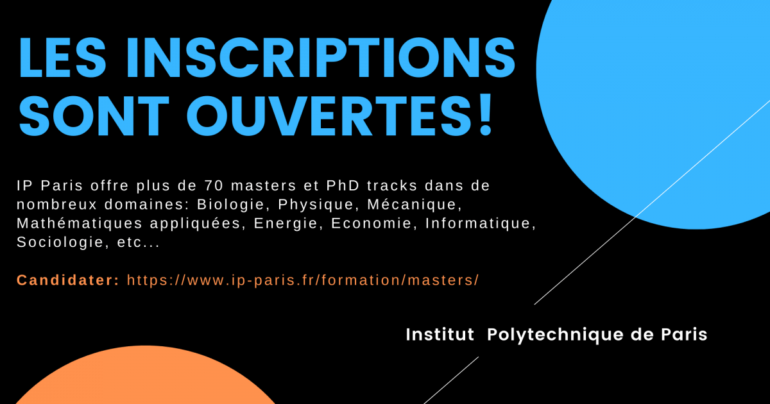 Masters IP Paris : inscriptions ouvertes