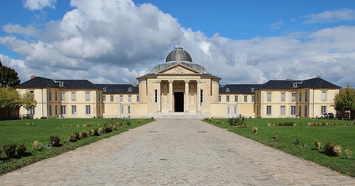 Vue du Lycée Hoche à Versailles
