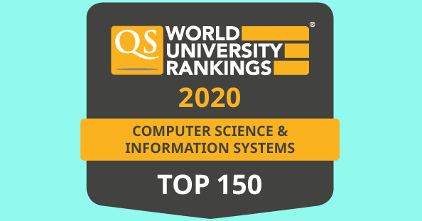 QS top 150 Computer Sc Info Sys
