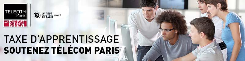 Taxe d'apprentissage : soutenez Télécom Paris