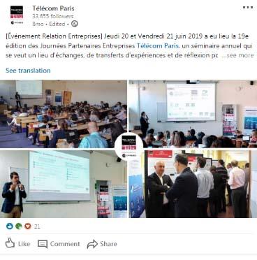 Séminaire partenaires 6/2019