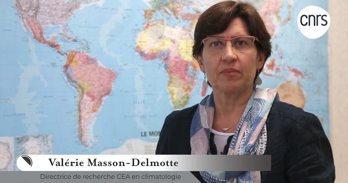 Valérie Masson-Delmotte, CNRS
