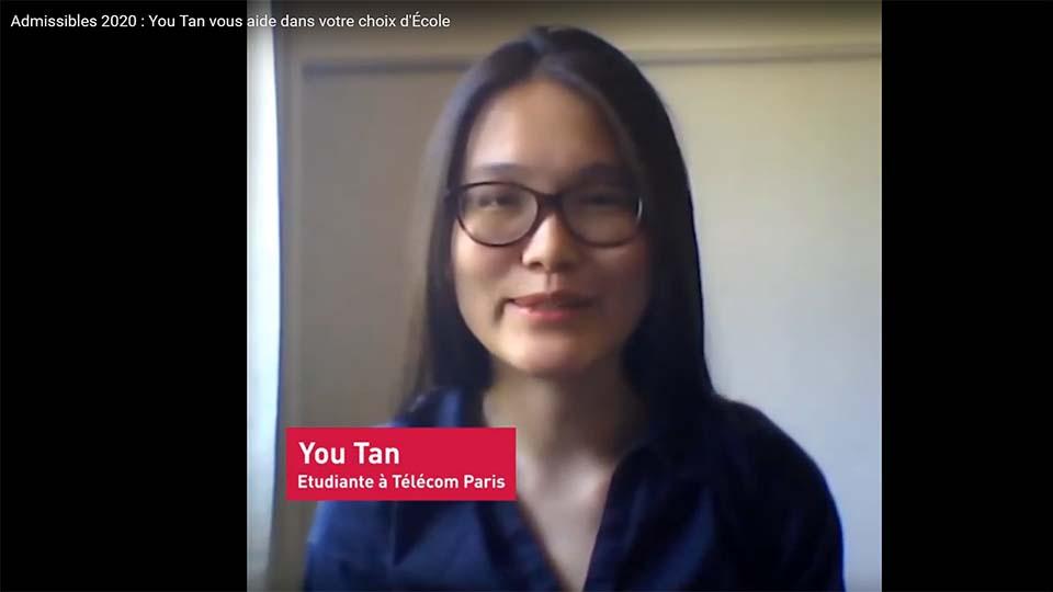 Admissibles : vidéo You Tan