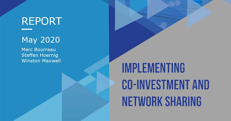 Co-investment & sharing : report