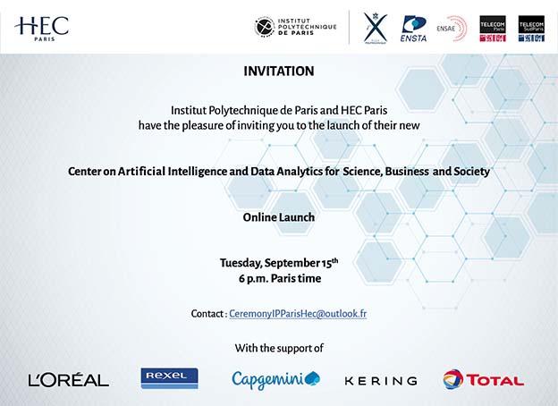 Launch Center AI HEC IP Paris