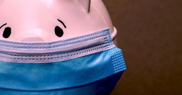 Tirelire masquée illust. étude CAE conso crise