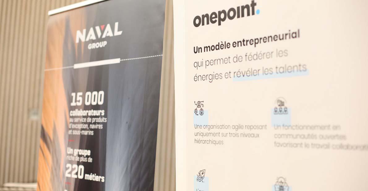 Naval group & onepoint, parrains de la promo 2023