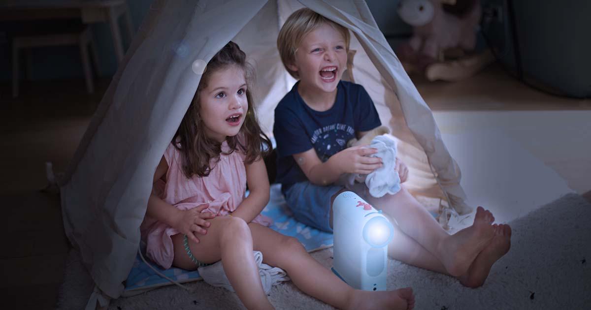 Tikino : un projecteur ludo-éducatif pour enfants !