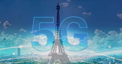 5G à Paris - fond photo François Grunberg