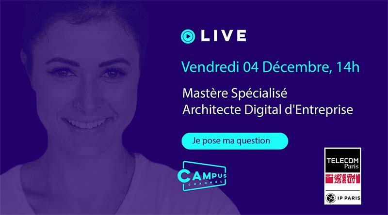 Campus Channel Architecte Digital d'Entreprise