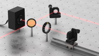 Quantum cascade laser Experimental setup
