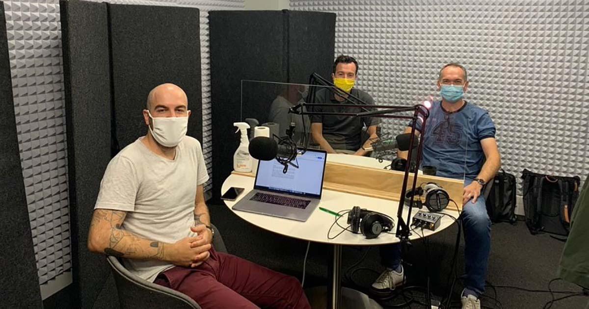 Vue du studio Deep où est enregistré le nouveau podcast sur la deeptech
