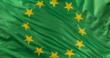 drapeau-europe-fond-vert