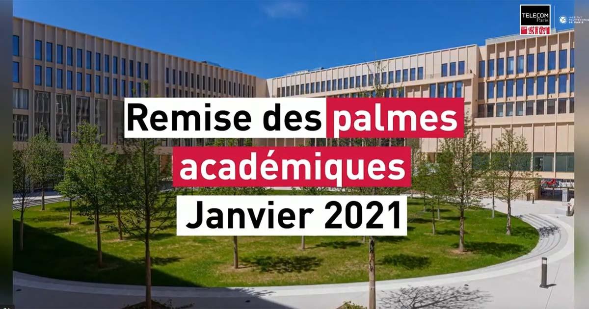 Palmes académiques janvier 2021