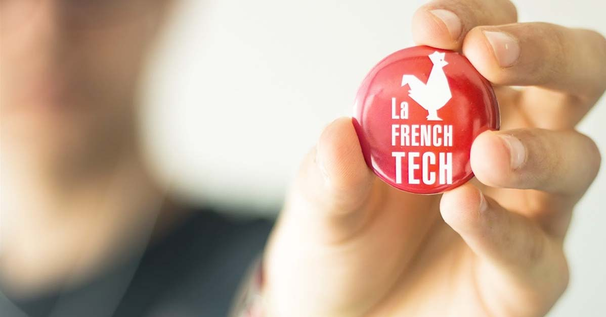 badge La French Tech (source La French Tech au MWC)