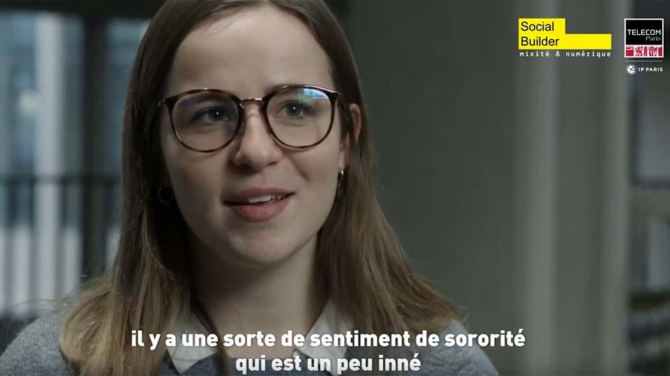 Marion Le Béchec (interview Femmes et Numérique)