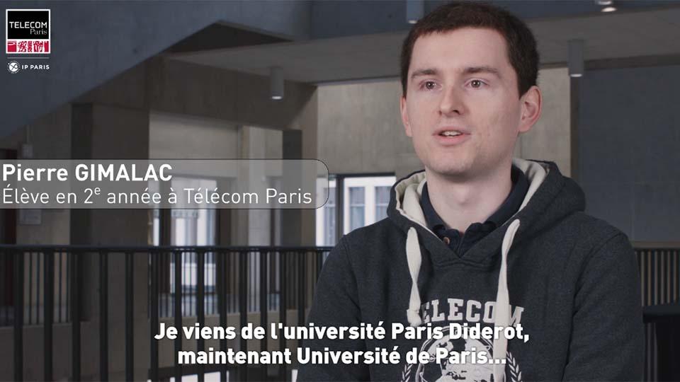 Témoignage de Pierre Gimalc, admis par voie universitaire