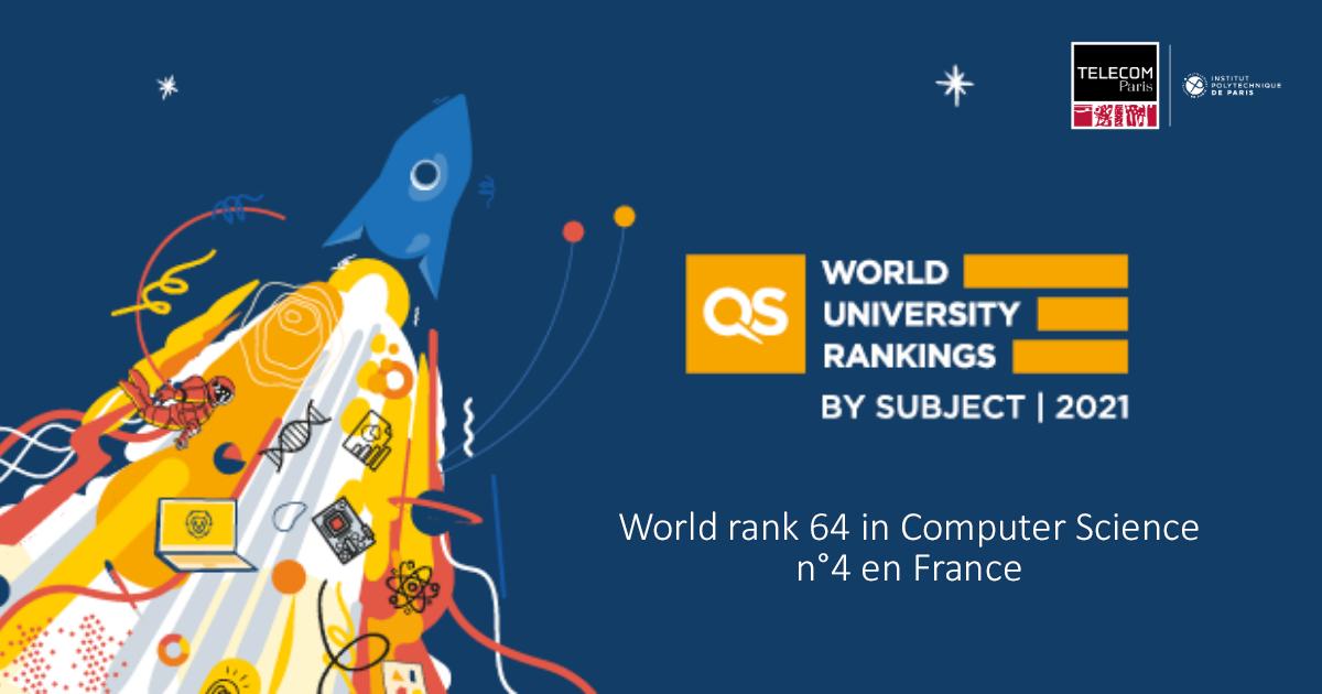 QS World University Rankings: Télécom Paris continues to grow!