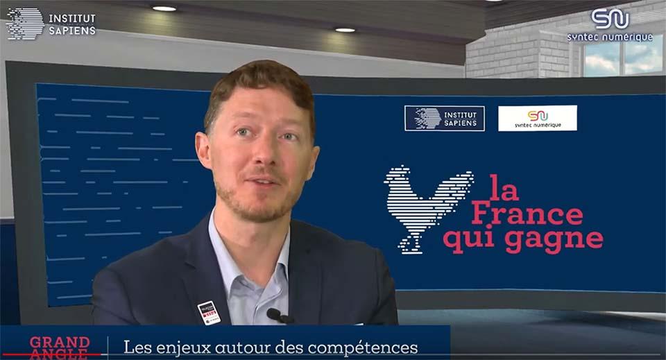 Nicolas Glady : Talents, compétences et formations à la française à l'heure du numérique (Institut Sapiens/Syntec Numérique)