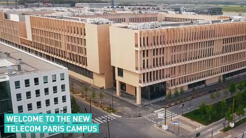 Welcome to Télécom Paris new campus (video)