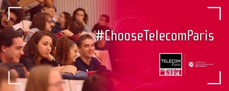 #ChooseTélécom Paris JPO 11 mai 2021