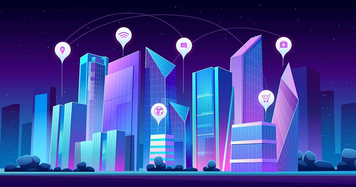 Smart city data Freepik/Upklyak