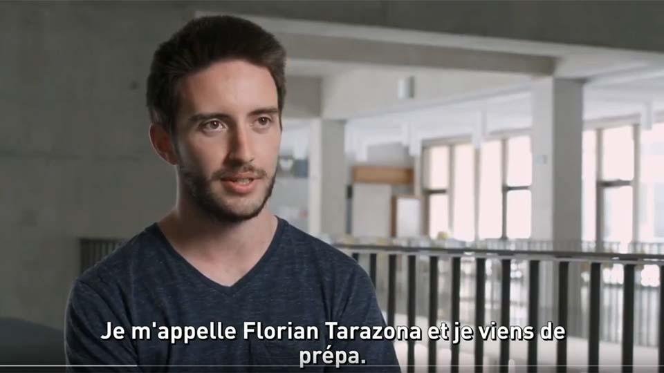 Admissibles : Florian Tarazona