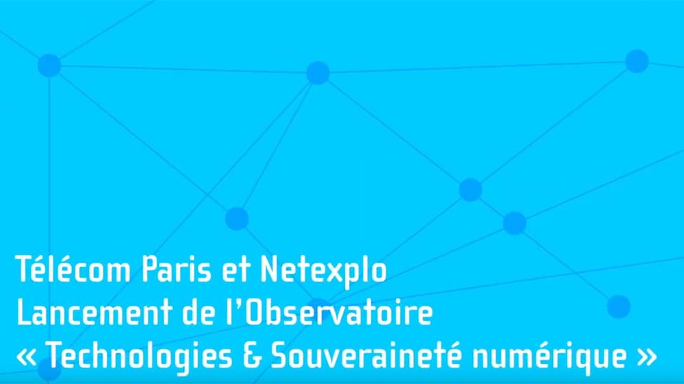 Observatoire de la Souveraineté Numérique : lancement