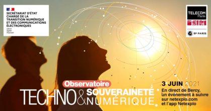 Observatoire Techno & souverainet numérique 3/6/2021