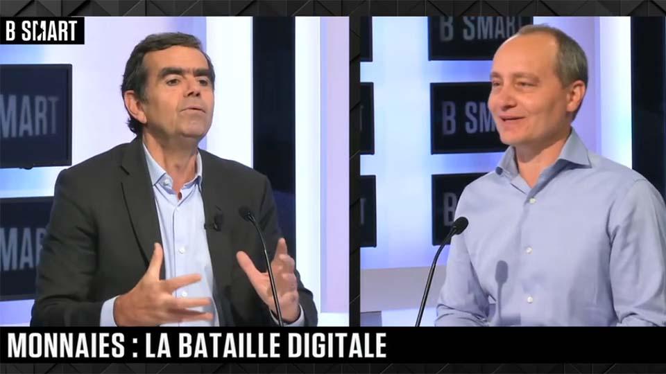 Monnaies digitales : David Bounie sur B Smart