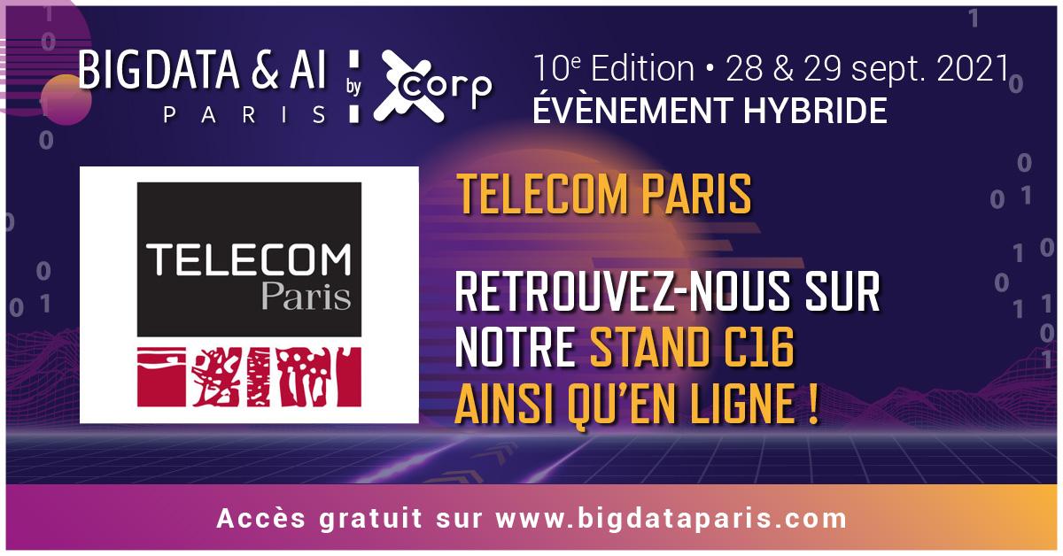 Big Data Paris 2021 stand C16