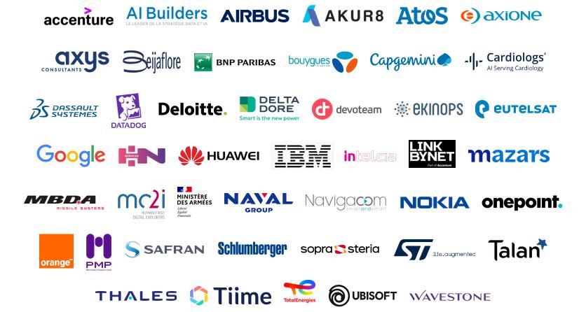 Logotypes des partenaires Campus 2021-2022