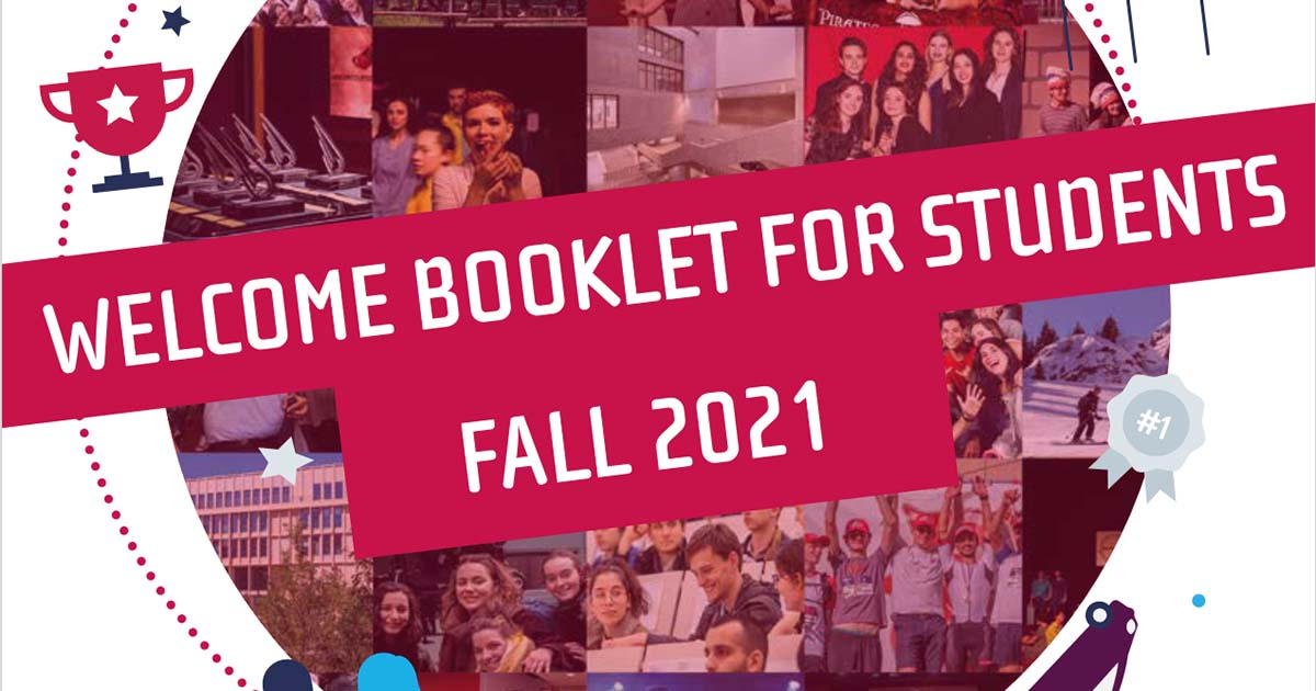 Welcome booklet for students