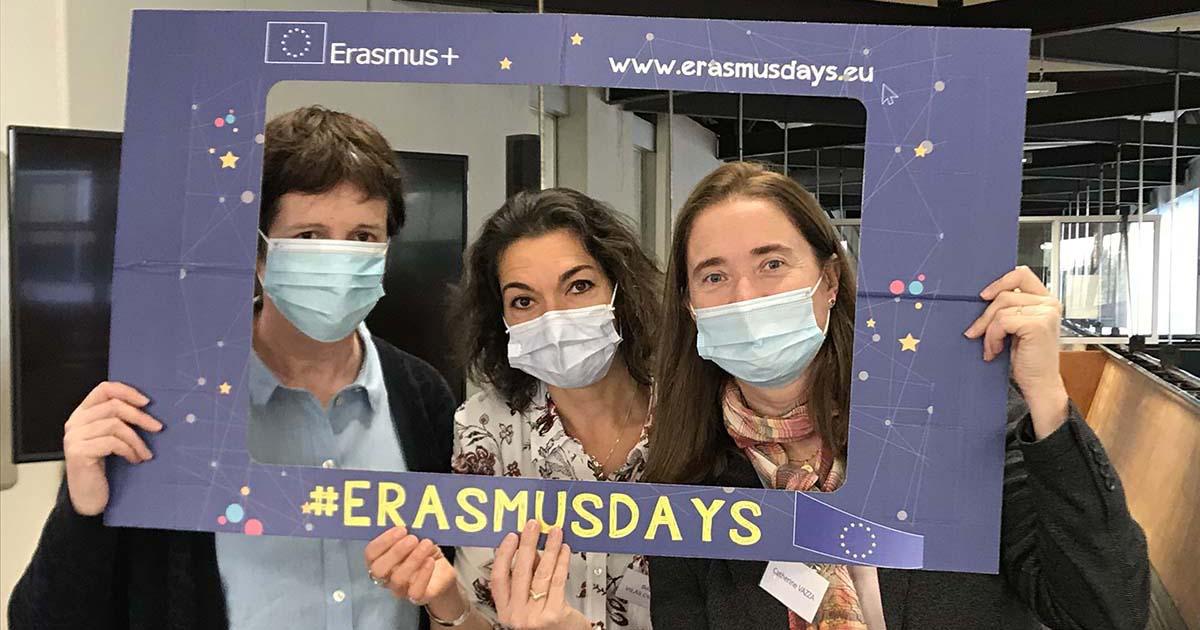Erasmus Days: Télécom Paris celebrates European mobility!