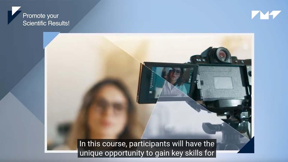 MOOC Promote your scientific results (teaser vidéo)