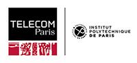 Logotype Télécom Paris (200 pixels de large)