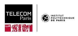 Logotype Télécom Paris (300 pixels de large)