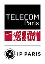 Logotype Télécom Paris (150 pixels de large)